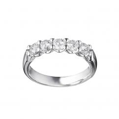Destiny Platinum .75ct Diamond Ring