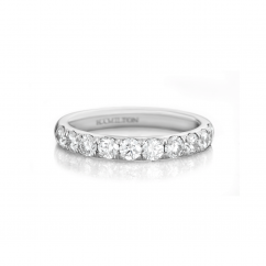 Lisette Platinum .25 Diamond Band