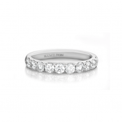 Lisette Platinum 1.00 Diamond Band