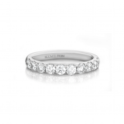 Lisette Platinum .75 Diamond Band