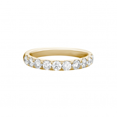 Lisette 18k Yellow Gold .50 Diamond Band