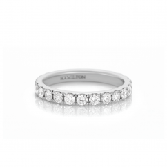 Lisette Platinum 1.15 Diamond Eternity Band