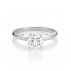 The Hamilton Select 1 Carat I-J/SI Diamond Engagement Ring GIA Certified