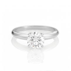 The Hamilton Select 1.50 Carat I-J/SI Diamond Engagement Ring GIA Certified