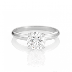 The Hamilton Select 3.00 Carat I-J/SI Diamond Engagement Ring GIA Certified
