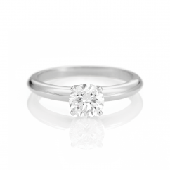 The Hamilton Select .50 Carat I-J/SI Engagement Ring GIA Certified