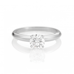 The Hamilton Select .75 Carat I-J/SI Diamond Engagement Ring GIA Certified