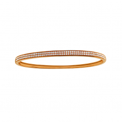 Hamilton Classic 18k Rose Gold and Diamond Bracelet