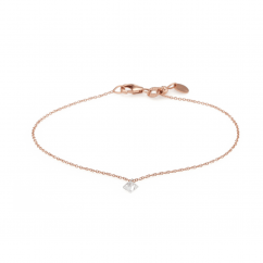 Darling 18k Rose Gold and Diamond Bracelet