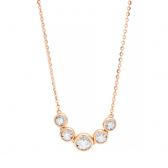 Boundless 18k Gold and Diamond Necklace