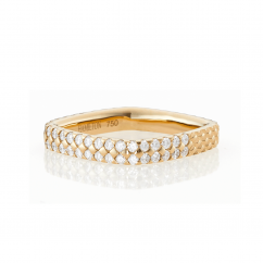 Mercer 18k Yellow Gold and Diamond Ring