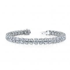Private Reserve Platinum and 23.42CT Diamond Bracelet