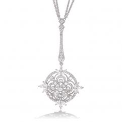 Heritage 18k Gold and Diamond Sautoir Necklace
