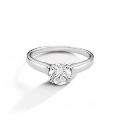 Hamilton Cherish Solitaire 18k Gold Mounting Engagement Ring