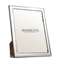 Hamilton Sterling Silver Drift 5 x7 Frame