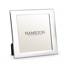 Hamilton Sterling Silver 5 x5 Wedding Proof Photo Frame