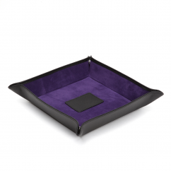 Wolf Designs Leather Coin Tray