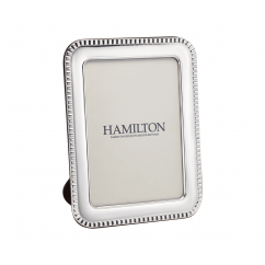 Hamilton Sterling Silver Worth 8x10 Frame