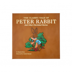 The Classic Tale of Peter Rabbit Genuine Leather Book