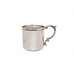 Sterling Silver Hamilton Scroll Handle Baby Cup
