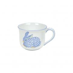 Herend Blue Bunny Mug