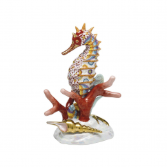 Herend Reserve Collection Seahorse