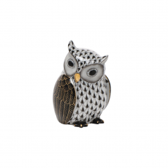 Herend Chocolate Owl