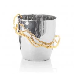 Michael Aram Wisteria Gold Champagne Bucket