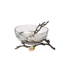 Michael Aram Pomegranate Bowl With Spoon