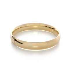 Classic 14k Yellow Gold Bangle Bracelet