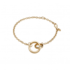 Classic Gold 14k Loop Bracelet