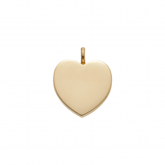 StoryTelling 18k Gold 25mm Heart Locket
