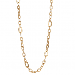 Classic 18k Gold 30 Inch Necklace