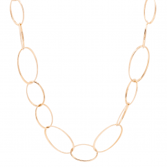 Classic 18k Rose Gold 36 Inch Necklace