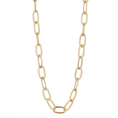 Classic 18k Gold 32 Inch Necklace