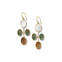 Ippolita Rock Candy 18k Gold and Stone Earrings