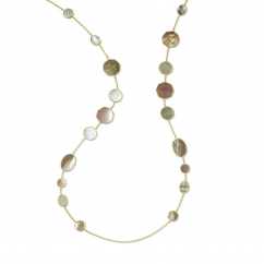Ippolita Polished Rock Candy Dahlia 18k Yellow Gold Necklace