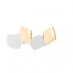 Vhernier 18k Rose Gold Plateau Earrings