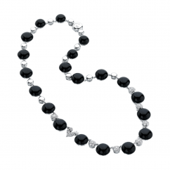 Chantecler Bon Bon Black Onyx Necklace, Exclusively at Hamilton Jewelers