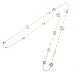 Chantecler Anima 70 Turquoise Necklace, Exclusively at Hamilton Jewelers