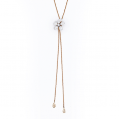 Chantecler 18k Rose Gold and Diamond Flower Necklace, Exclusively at Hamilton Jewelers