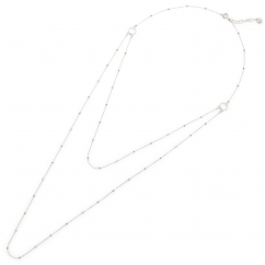 Chantecler 18k White Gold and Diamond Double Necklace, Exclusively at Hamilton Jewelers