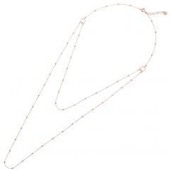 Chantecler 18k Gold and Diamond Double Necklace, Exclusively at Hamilton Jewelers