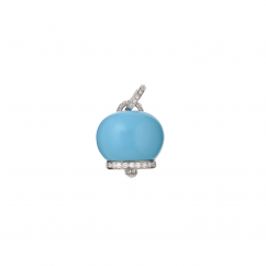 Chantecler Turquoise Bell Charm, Exclusively at Hamilton Jewelers