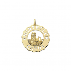 Chantecler 18k Gold Piazzetta Pendant, Exclusively at Hamilton Jewelers