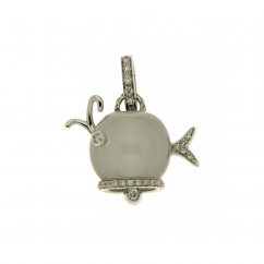 Chantecler Marinelle Diamond Whale Charm, Exclusively at Hamilton Jewelers