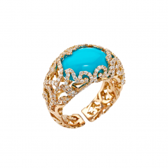 Chantecler 18k Turquoise Ring, Exclusively at Hamilton Jewelers