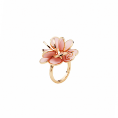 Chantecler 18k Pailettes Pink Ring, Exclusively at Hamilton Jewelers