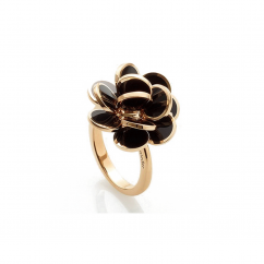 Chantecler Paillettes Black Enamel Ring, Exclusively at Hamilton Jewelers