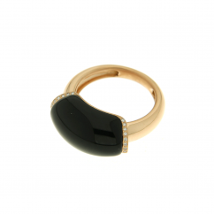 Chantecler 18k Gold and Onyx Ring, Exclusively at Hamilton Jewelers